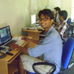 Salabh at the office Urban Networks in Saracon
