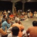 Prahladji Tipanya and Audience