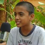 Bhavio 8th grader Deepanam