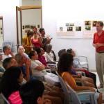 Michael Miovic at Savitri Bhavan