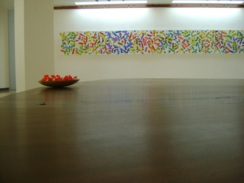 Photographer:nola | Peace Table at  Unity Pavilion in International Zone