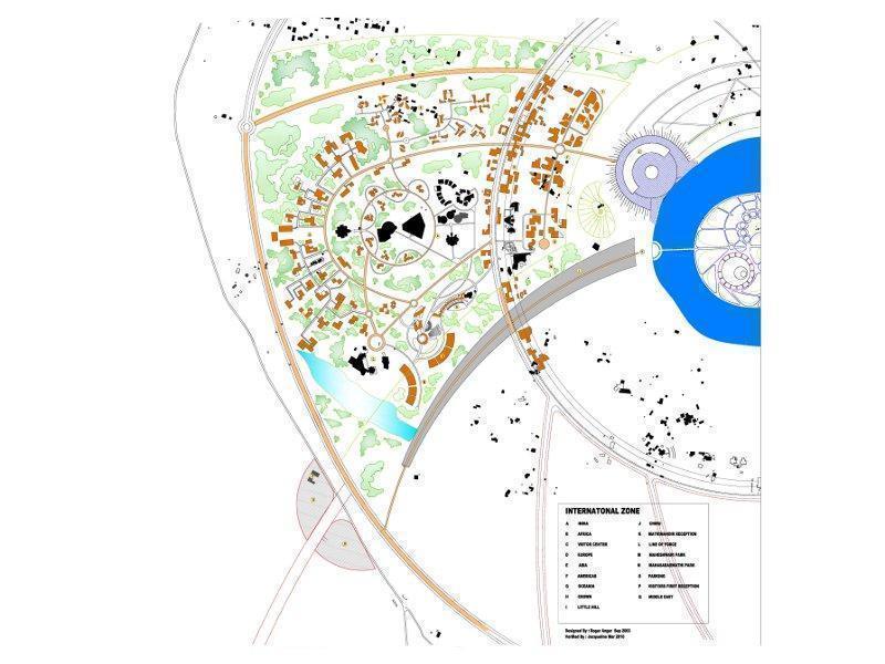 Photographer:l'Avenir d'Auroville   International Zone map