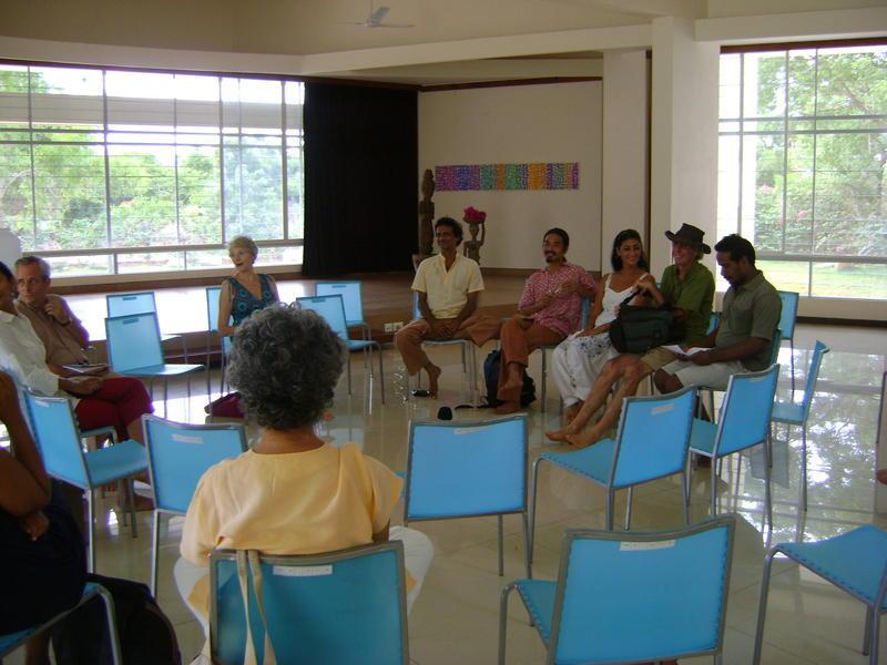 Photographer:Zarin | International Zone meeting at Unity Pavilion