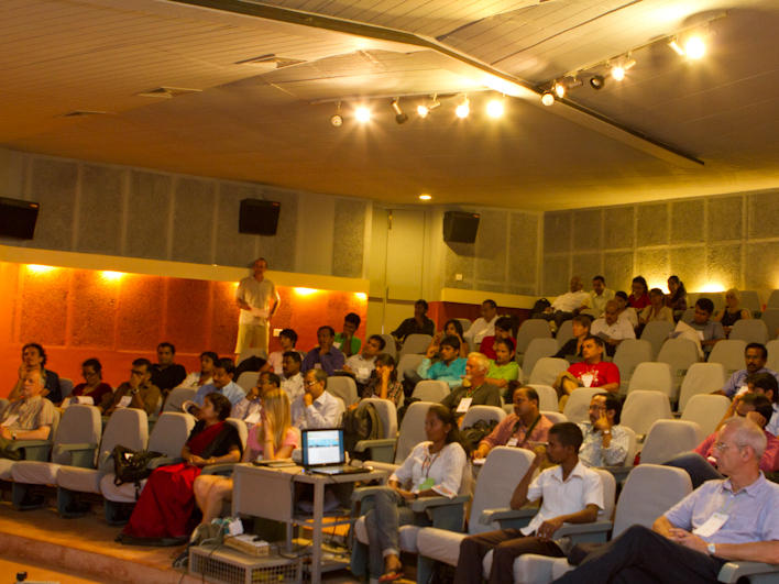 Photographer:Vimal | The audience at the Cinema Paradiso