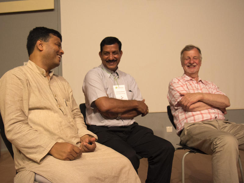 Photographer:Vimal | Herbert, Brahmanand and Aromar Revi