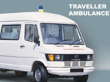 Photographer:web | Balaji Force TRaveller - new Ambulance