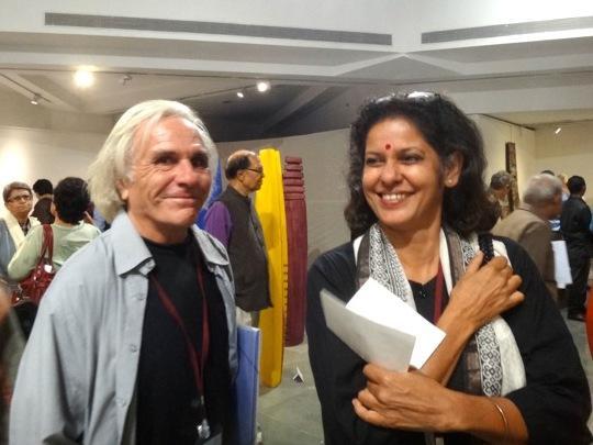 Photographer:Jyothi | Pierre Legrand and Anu Majumdar