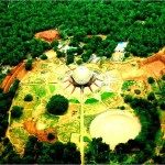 Auroville, from above