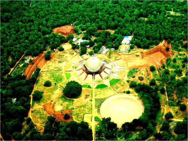 Photographer:Google Images | Auroville, from above