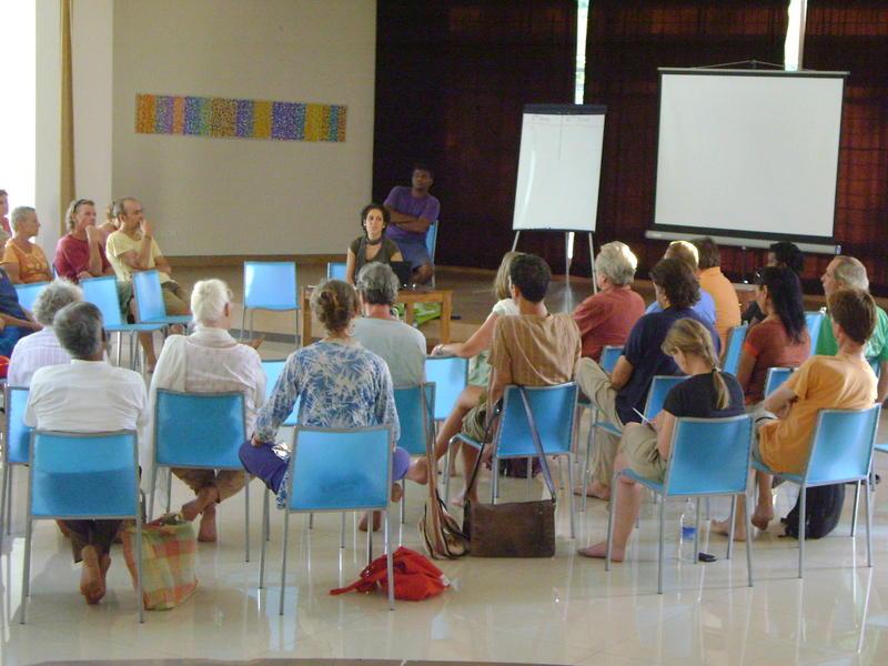 Photographer:Nola | Introduciton of new L'Avenir d'Auroville/TDC team