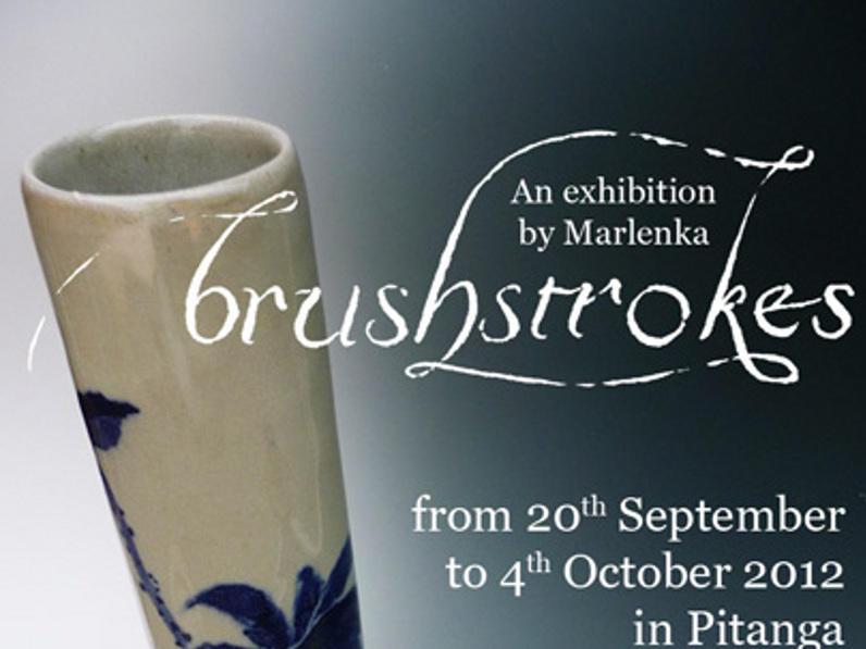 Photographer:Marlenka | Marlenka's Art Exhibition flyer