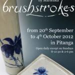 Marlenka's Art Exhibition flyer