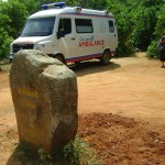 New ambulance at Kailash Clinic