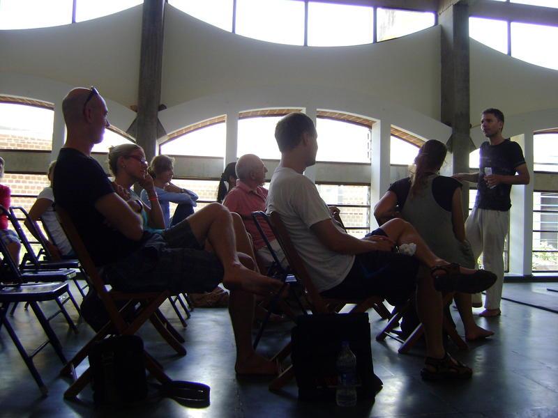 Photographer:Andi | Jim's Sunday talk at Quiet Healing Center