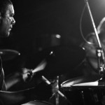 Suresh on drums