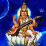 Saraswati, the Goddes of learning, knowledge and wisdom
