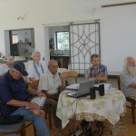 The meeting was held in the Arka community kitchen
