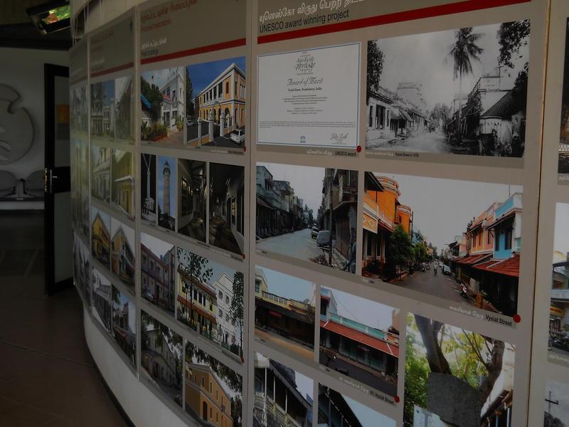 Photographer:Clara | Architecture of Pondicherry prepared by INTACH