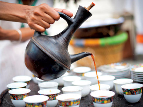 Photographer:web | Ethiopian Coffee Ceremony - 25th at Unity Pavilion