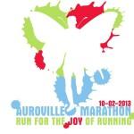 2013 Auroville Marathon Logo
