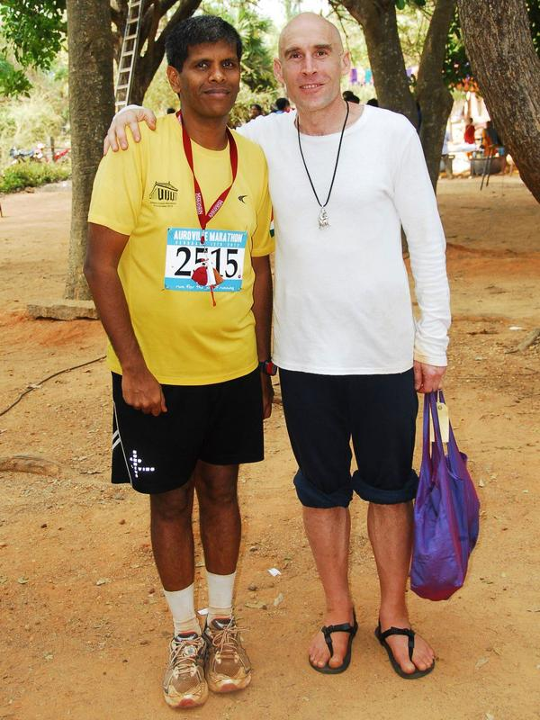 Photographer:Mahesh Srinivas | Rajesh Vetcha with Barefoot Ted