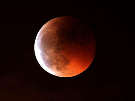 Photographer:web | Penumbral lunar eclipse on 28th 5.44pm to 10.21pm