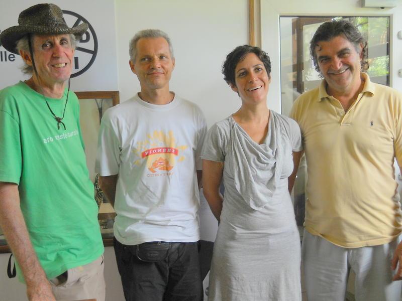 Photographer:Andrea | From left: B, Matriprasad, Elvira and Luigi