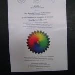 The Rainbow Dancer, 12.12.12. at Bharat Nivas