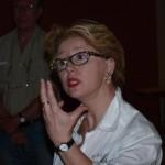Elisabeth a mis toute sa passion dans cette conference