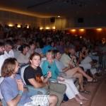 Devant un auditoire fourni et attentif
