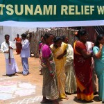 Many NGOs and citizens around the world have supported the victims of the tsunami