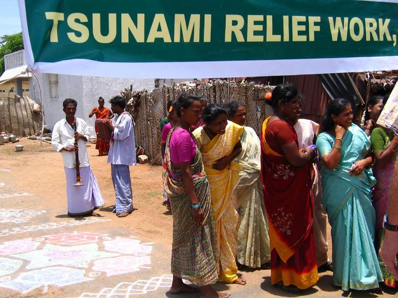 Photographer:Courtesy by Melgupta - Flickr | Many NGOs and citizens around the world have supported the victims of the tsunami
