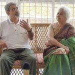 Mrs Patel and Professor Bahman Shirazi