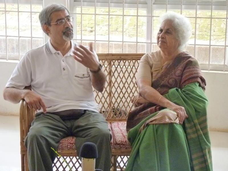 Photographer:Fabienne | Mrs Patel and Professor Bahman Shirazi