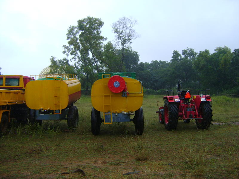 Photographer:Amelia | Part of the vehicles bought by grant from Government of India