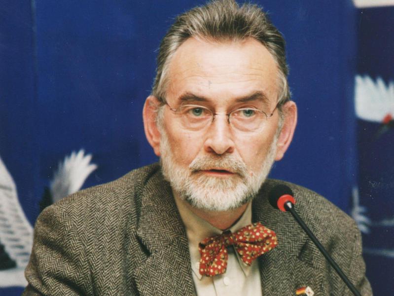 Photographer:Courtesy of newsletter.kf.or.kr | Prof. Sasse at the Korean Foundation