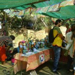 More than 20 eco stalls were present at the event.