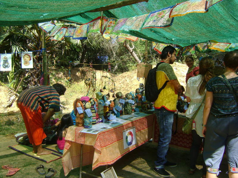 Photographer:Lorella | More than 20 eco stalls were present at the event.