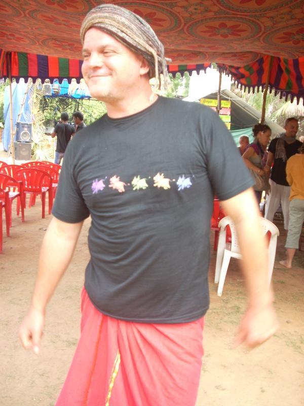Photographer:Andrea | Krishna, the head of the festival.