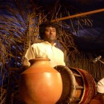 Classical south India percussion set. Sowri Rajan at Tavil.