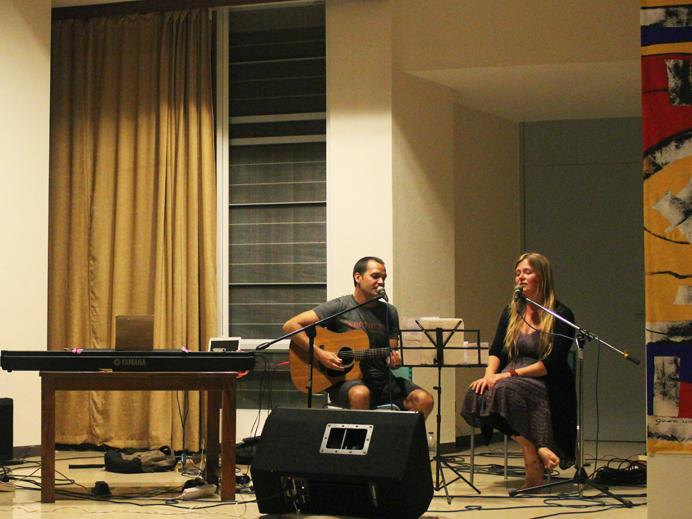 Photographer:Manreet Deol | Suryan and Emilia - Jazz in Transformation at Unity Pavilion