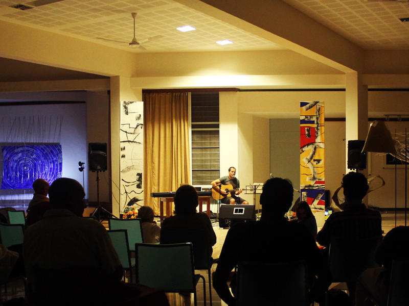 Photographer:Manreet Deol | Suryan - Jazz in Transformation at Unity Pavilion