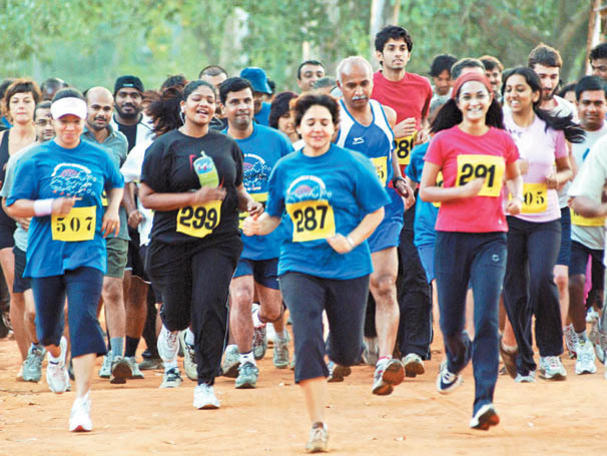 Photographer:Courtesy AV Runners | Running in Auroville