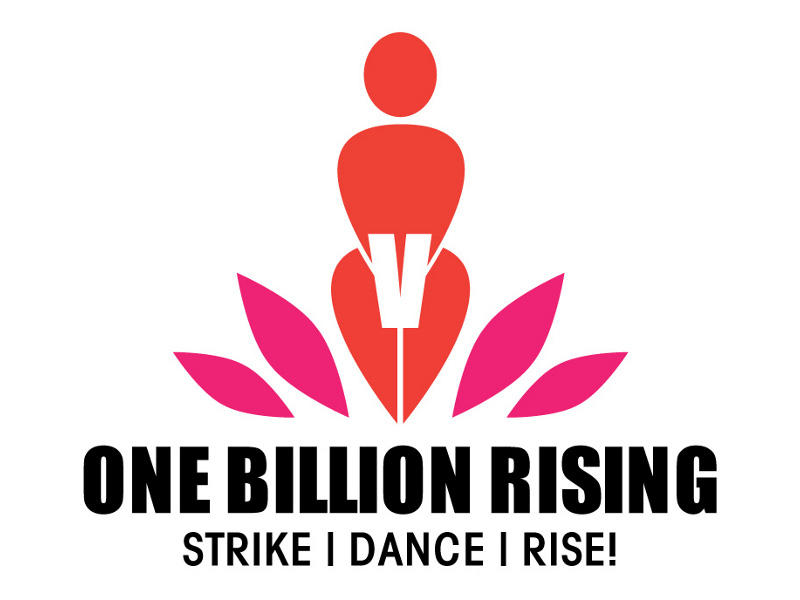 Photographer:Andrea | The logo of One Billion Rising event