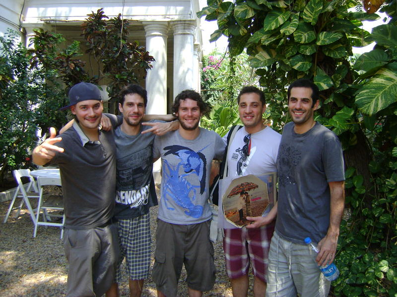 Photographer:Nola | Scratch Bandits Crew - Supa-Jay, Remy,  Geoffresh, Thibaud  and Syr