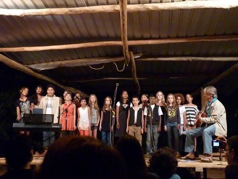 Photographer:Yahalom   Auroville Children Choir