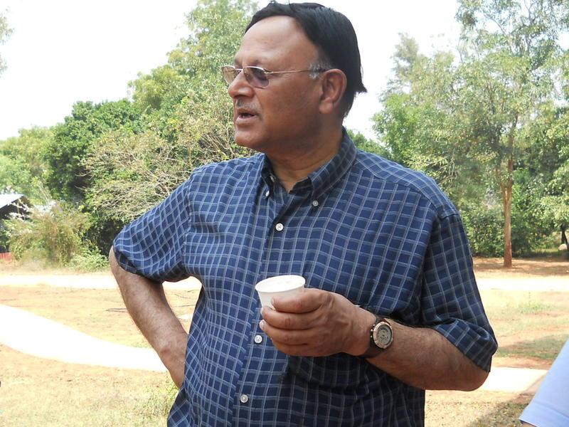 Photographer:Andrea | Tea time for Dr. Anand Kuma.