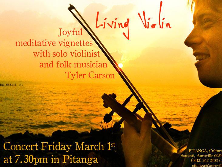 Photographer:web | Tlyer Carson - Living Violin