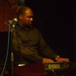 Mdu Msthali on piano , key boards