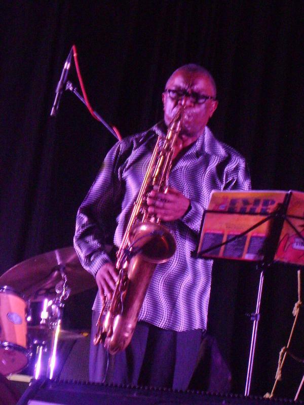 Photographer:Nour | Ace Sydney Mnisi on saxophone